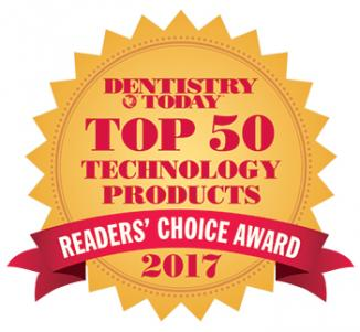 2017 Dentistry Today Readers' Choice Top 50 Technology Products
